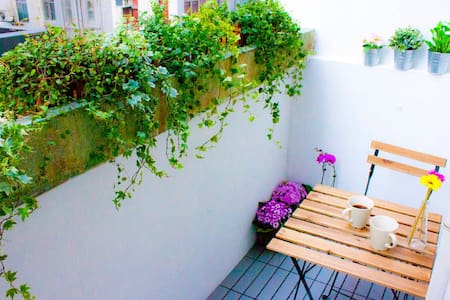 ☀ Lovely Studio with Terrace TST - Yau Tsim Mong District - Appartement