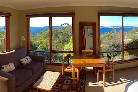 Sunrise Studio WOW! view - Taroona