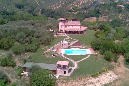 RELAIS IL MONTICELLO: CAMERA ULIVO - Montefiore Conca