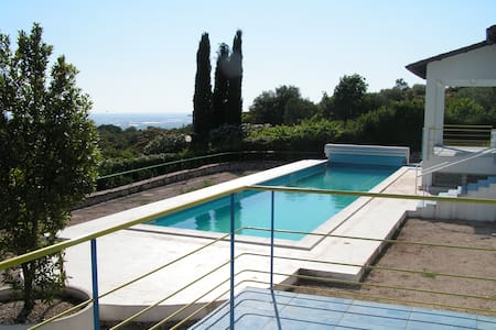 Villa with pool and stunning views - Priverno - Vila