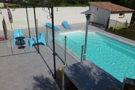 Chambre à la campagne avec piscine - Ev