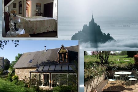 Gîte de Charme - Mont Saint-Michel - House
