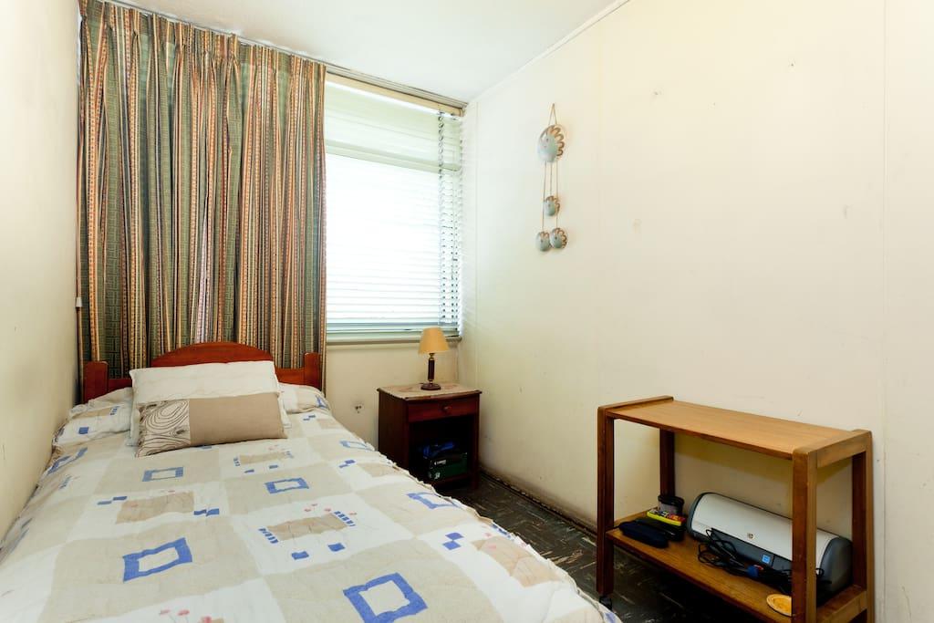 habitacion privada con baño compart