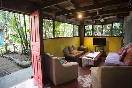 Private Room Double Bed in Casa Jungla Hostel - Bed & Breakfast