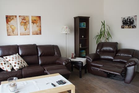3bdr apartment 5min to AIRB+AC
