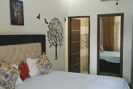 Fully furnished 8 Rooms with WiFi - Chandigarh