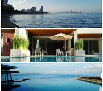 Fantastic Beachfront Pool Access - Muang Pattaya - Flat
