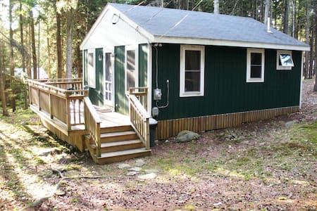 Ocean Point Cabin - East Boothbay - Cabane