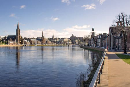 Riverbank Studio, City Centre - Inverness - Квартира