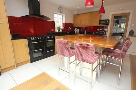 Spacious double room in detached house - Woking - House