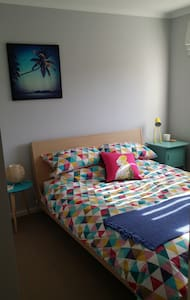 Comfy room, own bathroom, central location - Lägenhet