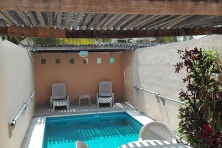 Departamento de 2 pisos con piscina - Chicxulub