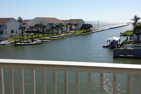Water front condo with fishing pier - Rockport - Apartament