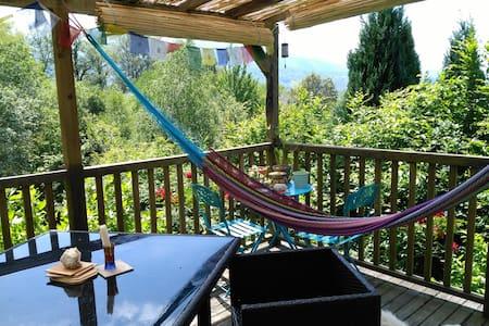 Chambre cosy avec vue sur les montagnes - Haus