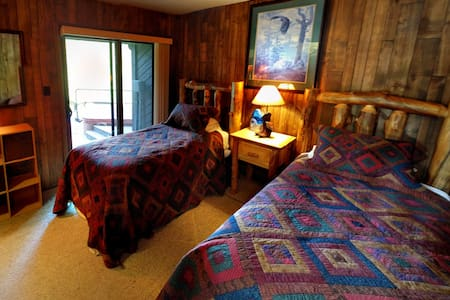 BR#3: Porcupine Alpine Base Camp (Twin's Room) - Haus