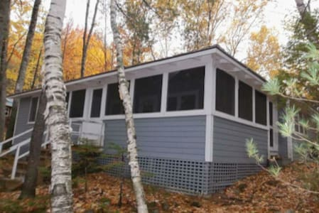 Lakefront cabin, close to Baxter SP - Casa