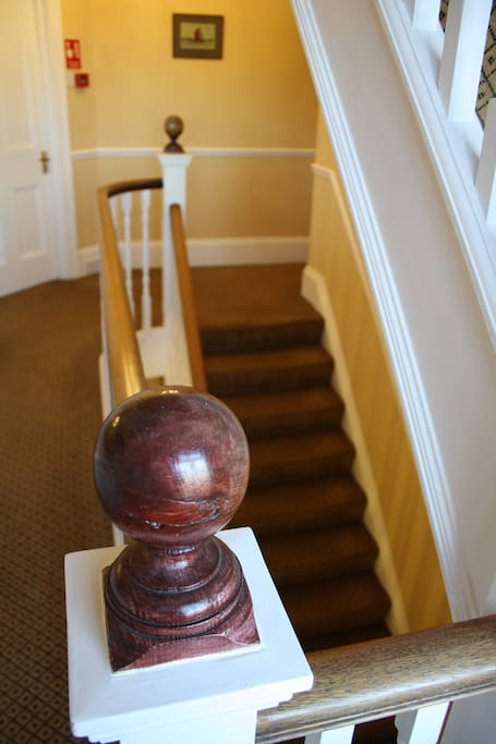 Lattice Lodge is a characterful old house with many original features still in place.