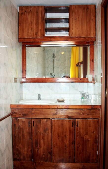 lavabo in bagno
