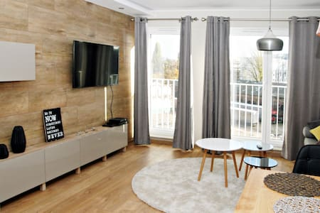 Beautiful new apartment in the center - Wrocław - Apartmen