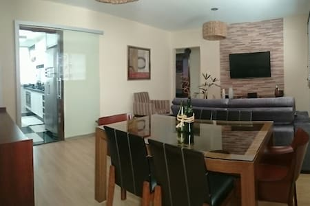 Comfortable, well-located beed room - Maringá - Apartment