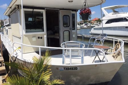 Fully equipped 52' Houseboat - Kemah - Bateau