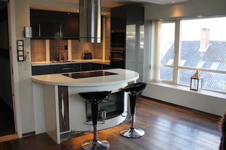 Elegant and spacious home with luxurious bathroom - Bergen - Villa