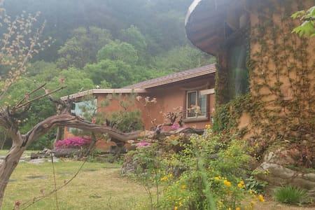김삿갓 계곡 근처 직접 지은 황토집 - Gimsatgat-myeon, Yeongweol - Earth House