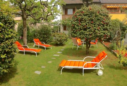 House with garden Ascona,very quiet