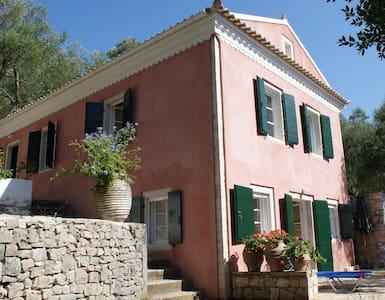 Romantic villa,huge garden,sea view, olive trees - Villa