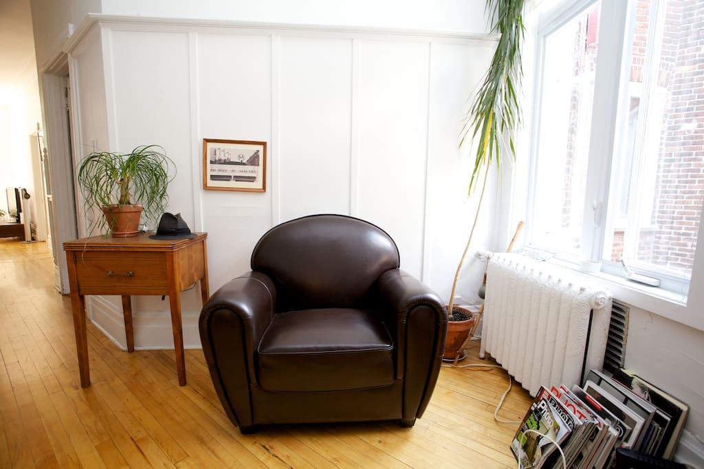 Spacious apartment. European charm