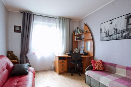 Уютная комната в 2-х комн кв-ре. - Sankt-Peterburg - Flat