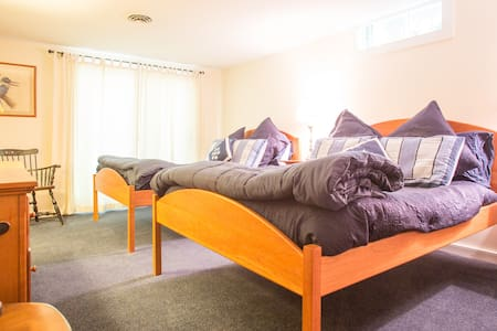 Perfect  - Two Full Beds + Twin! - Ludlow - Rumah