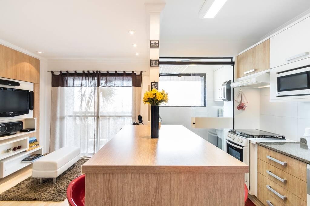Stylish Apartment at Itaim Bibi SP