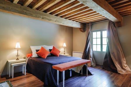 1 Chambre d'hôtes de charme - Anthon - Bed & Breakfast