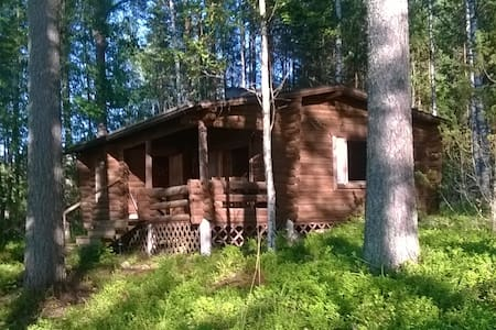 Beautiful Cottage at Lake Saimaa - Blockhütte