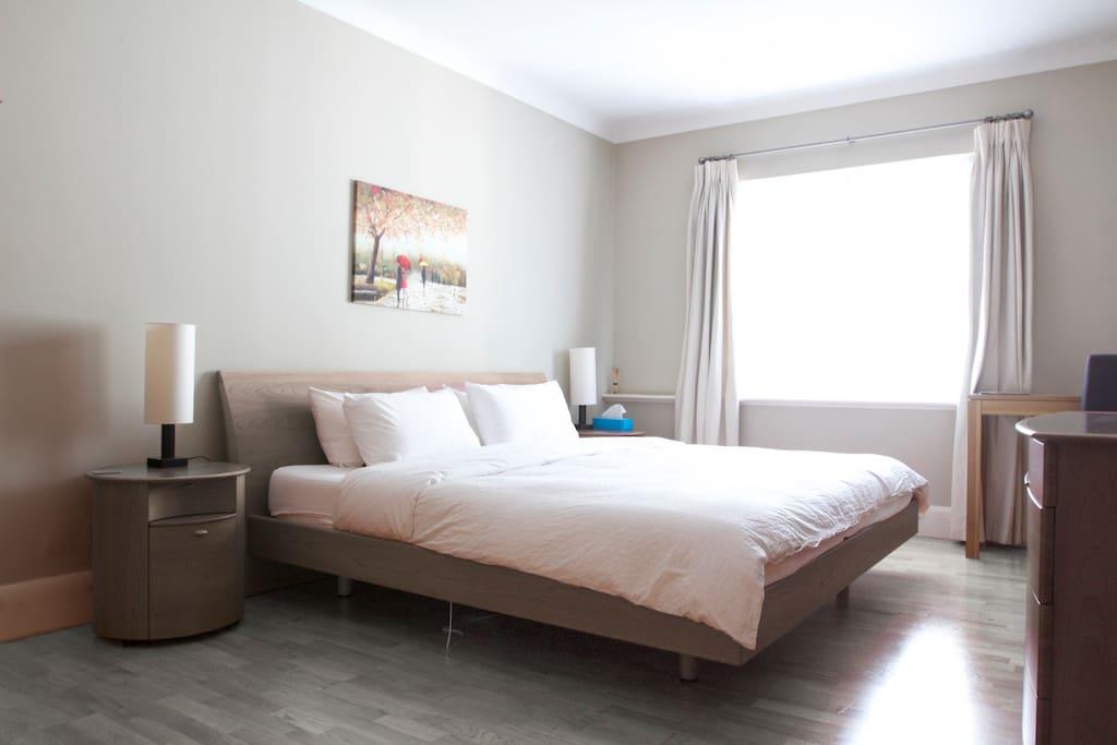 super big California bed