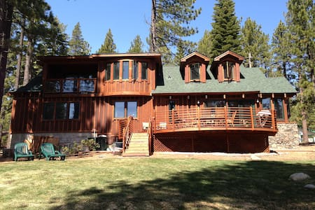 Tranquil and Serene in the woods - South Lake Tahoe - House