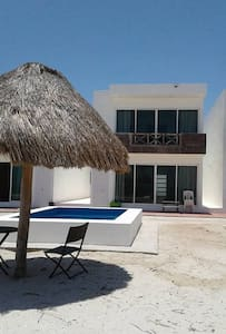 Beach house with magnificent seaview - Telchac Puerto - Villa