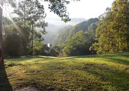 Byron Bay hinterland creek & hills - Repentance Creek - House