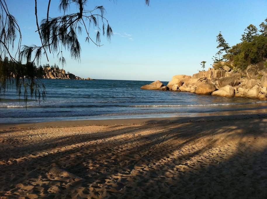 This is Florence Bay - you can catch a bus to the turnoff and then walk through the National Park to this magnificent beach.