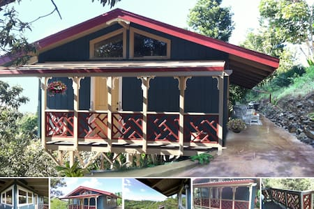 Ocean View - Private Cabin - Makawao - House