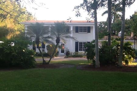 Charming plantation home