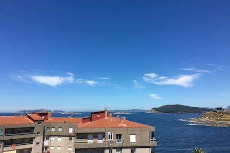 Piso en Bayona de 3 habitaciones con vistas al mar - Ganze Etage