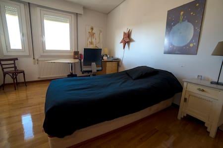 Habitación luminosa y céntrica+WIFI - Ganze Etage