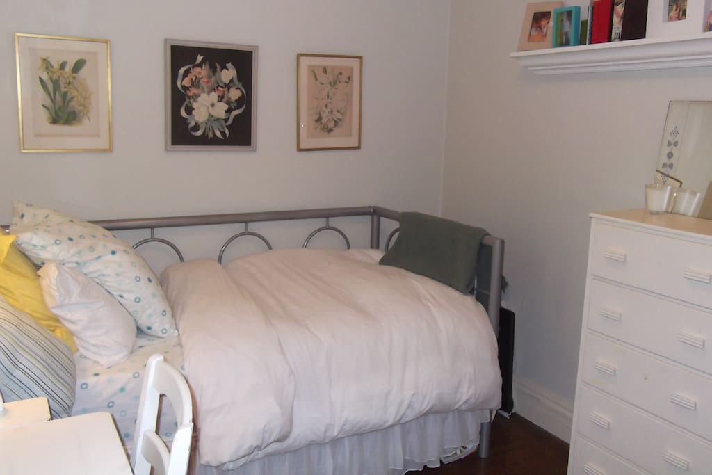 The comfortable, peaceful room