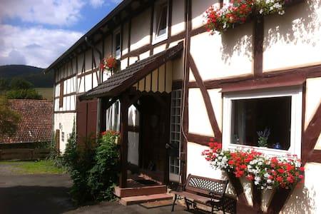 Waldeckisches Bauernhaus KrummelsEG - Edertal - Talo