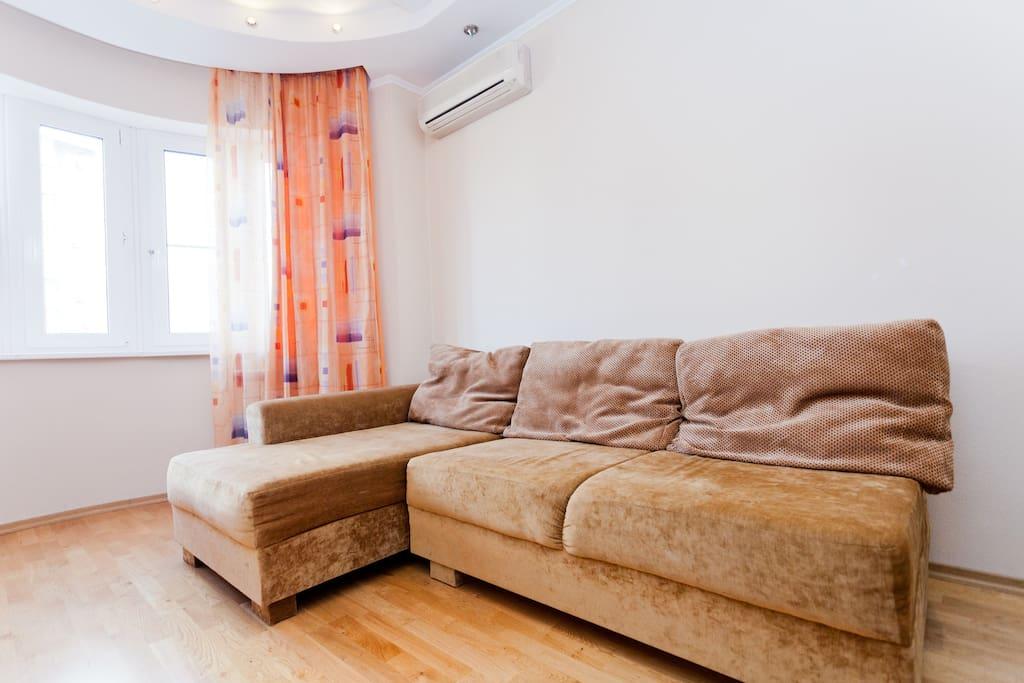 Modern elegant apartment center
