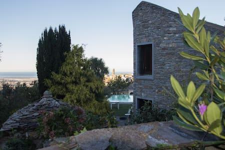 Maison, Piscine, Vue mer et village - Penta-di-Casinca - Haus