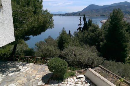 Located on hill with nice sea view - Agios Konstantinos - Villa