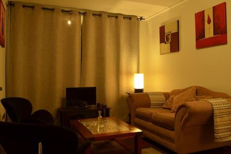 Departamento amoblado 2 dormitorios - Leilighet